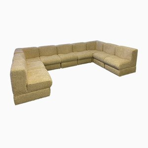 Vintage 9-Piece Modular Sofa, 1970s