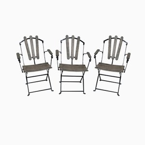 Garden Chairs, 1960s, Set of 3