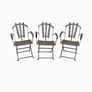 Gartenstühle, 1960er, 3er Set