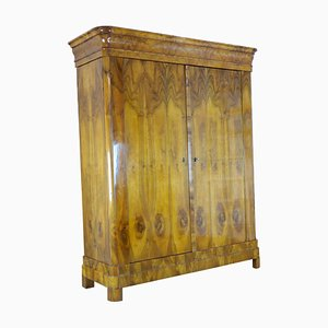 Biedermeier Walnut Wardrobe, 1820s