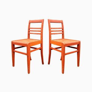 Dining Chairs by René Gabriel, 1940s, Set of 2