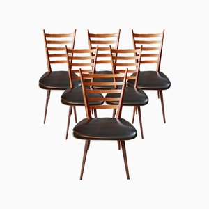Mid-Century Dining Chairs by Cees Braakman for Pastoe, Set of 6