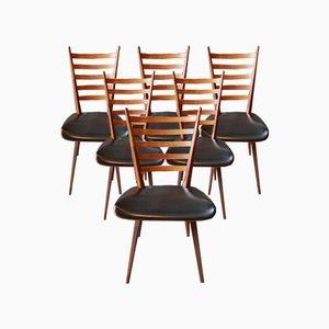 Mid-Century Esszimmerstühle von Cees Braakman für Pastoe, 6er Set