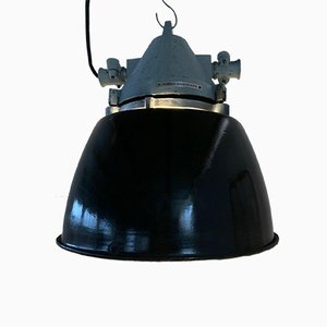 Industrial Bunker or Ship's Lamp from Elektrosvit, 1960s