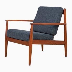 Teak Lounge Chair by Grete Jalk for France & Søn / France & Daverkosen, 1950s