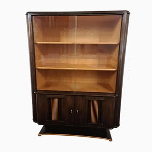 Vintage Art Deco Macassar Buffet by Jules Perrenoud