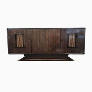 Art Deco Macassar Buffet von Jules Perrenoud