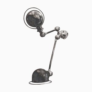 Industrial 2-Light Sconce by Jean-Louis Domecq for Jieldé, 1950s