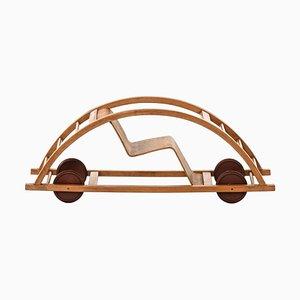 German Swing Cart by Hans Brockhage & Erwin Andrea for Gottfried Lenz