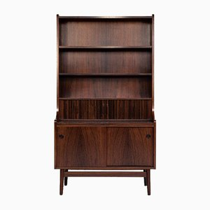 Mid-Century Danish Secretaire or Bookshelf in Rosewood from Nexø, 1964