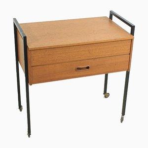 Teak Sewing Table, 1960s