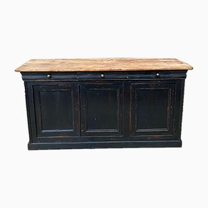 Patinated Buffet with 3 Doors