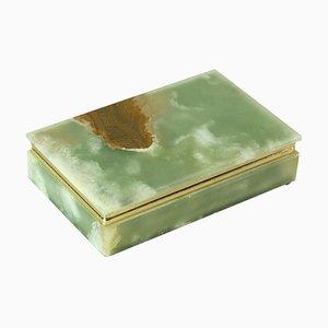 Italian Jade, Onyx & Marble Box