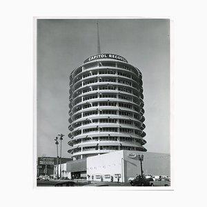 Capitol Records Building, Original Press, 1957