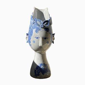 Eve Face Vase by Bjorn Wiinblad, 1980s