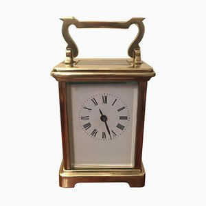 Orologio antico in ottone laccato, Francia