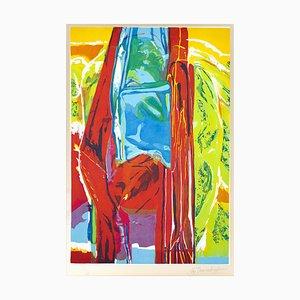 John Chamberlain - 3 Daughters, More Rain - Etching - 1987