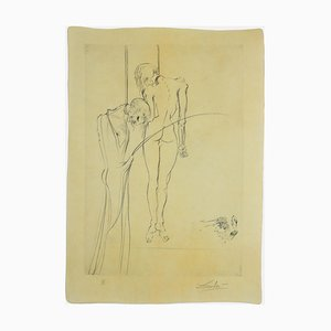 Salvador Dalí - The Kings Hanging in the Trees - Etching and Drypoint - 1973