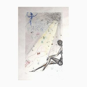 Salvador Dalí - The Shepherd - Radierung - 1971