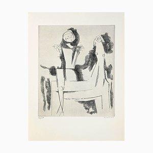 Marino Marini - The Idea Knight - Radierung - 1958