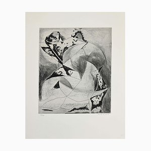 Marino Marini - Composition II - Etching - 1969
