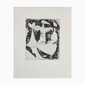 Marino Marini - Composition I - Etching - 1956