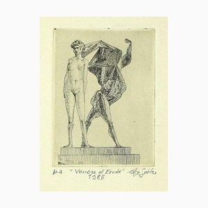 Leo Guida - Venus und Herakles- Radierung - 1985