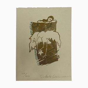 Umberto Giovannini - Ex Libris - Gravure sur Bois - 1980