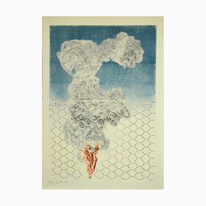 Leo Guida - Composition - Etching - 1971