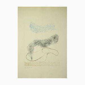 Leo Guida - Composition 1971 - Etching - 1971