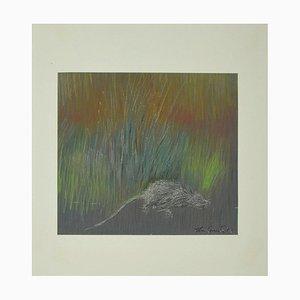Leo Guida - The Rat - Pastel - 1973