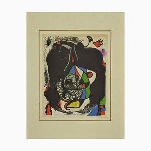 Joan Miró - Revolutions Performing Twentieth Century - Lithograph -1975