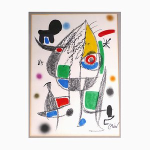 Joan Miró - Wonders With Acrostic Variations - Lithograph - 1975