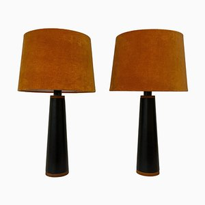 Scandinavian Table Lamps from Luxus, Sweden, 1970s, Set of 2