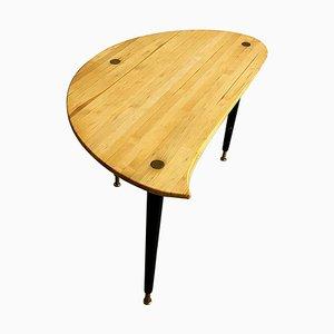 Kidney-Shaped Side Table from Svensk Fur, Sweden, 1970s
