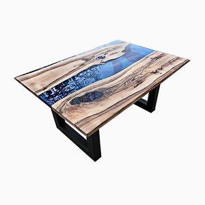 Tavolo da pranzo Deep Ocean di Andrea Toffanin per Wat, 1988