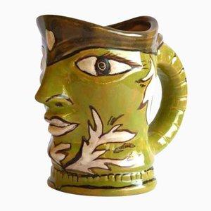Italian Ceramic Mug by Elio Schiavon for Erhart, 1970s