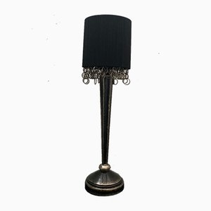 Art Deco Style Table Lamp by Leeazanne for Lam Lee Group Dallas, 1990s