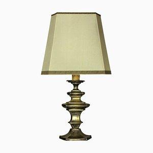 Antique Flemish Bronze Table Lamp