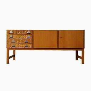 Sideboard aus Buche, 1960er