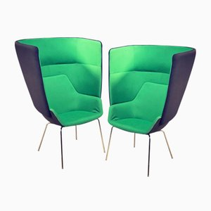 hm87b Cocoon Chair by Simon Pengelly for Hitch Mylius, 2012, Set of 2