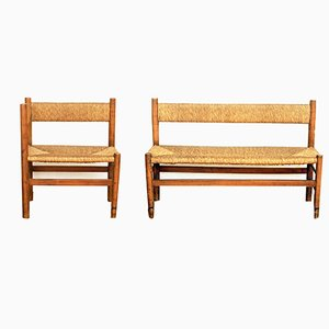 Benches, 1960s, Set of 2