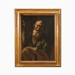 Antique Religious Painting, 18th Century