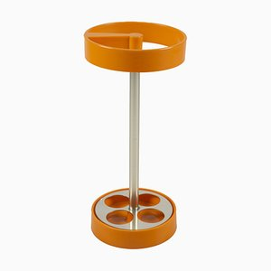 Vintage Organge Umbrella Stand by Joe Colombo for Kartell