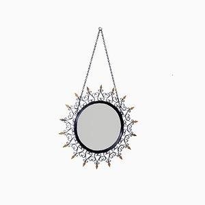 Convex Spiegel von Chaty Vallauris für Chaty Vallauris AM, 1950er