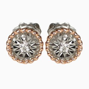 Gold 18 Carat Earrings, Set of 2