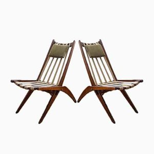 Lounge Chairs, 1930s, Set of 2