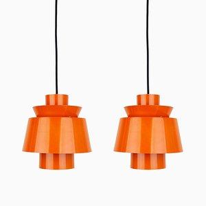 Mid-Century Tivoli Ceiling Lamps by Jørn Utzon for Nordisk Solar, Set of 2