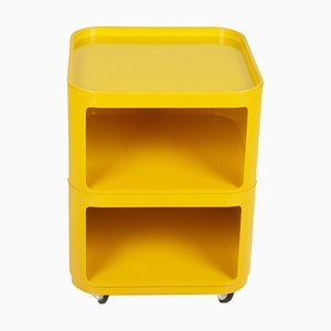 Yellow Cabinet by Anna Castelli Ferrieri for Kartell, 1970s