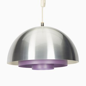 Vintage Purple Milieu Ceiling Lamp by Johannes Hammerborg for Fog & Mørup